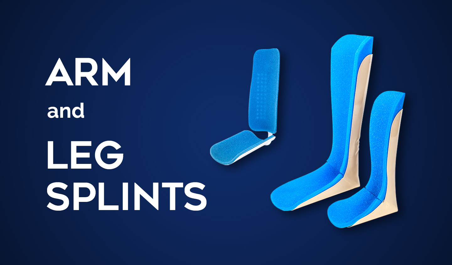 arm and leg splints
